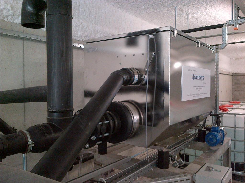Sanoxys - Projekt I - new aqua Trommelfilter D820